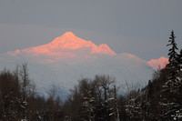 Sunrise near Haines, Alaska